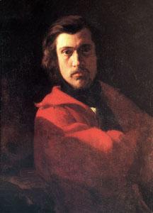 Portrait de Chintreuil par Villain