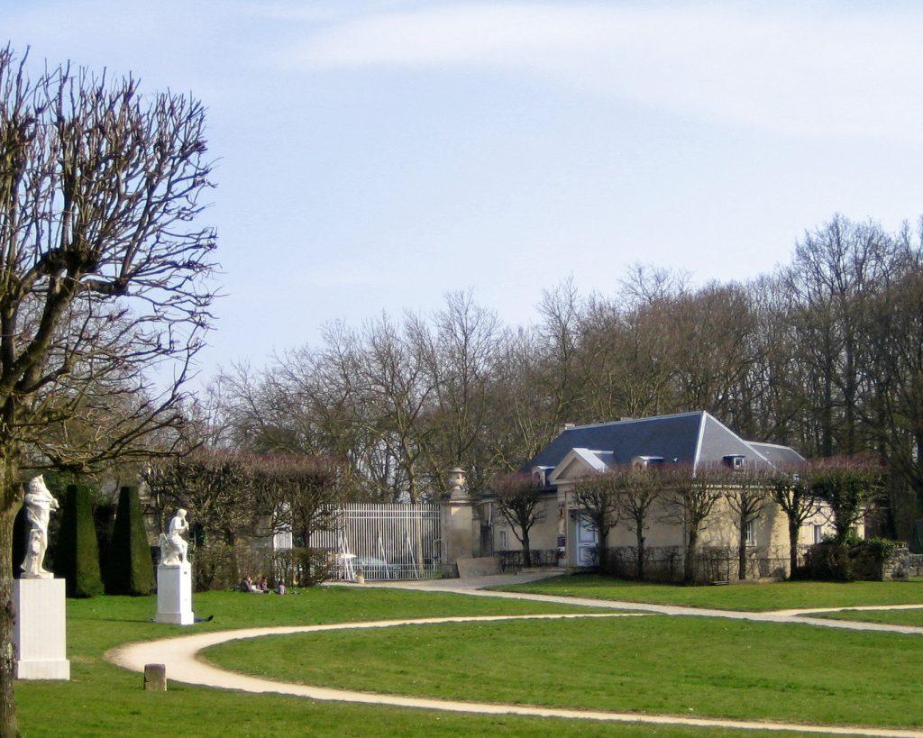 Le Musée-Promenade à l'entrée du Parc.