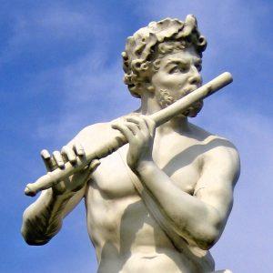 Le Berger flûteur de Coysevox.
