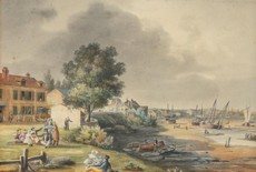 Le port de Royan vers 1823