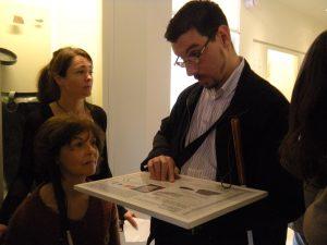 Un musée au bout des doigts : explications en braille