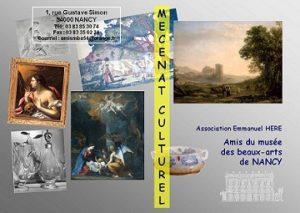 Mécénat culturel animé par l'Association